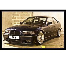 BMW 323 E36 Photographic Print