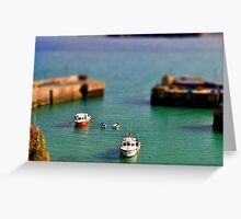 little boats Greeting Card