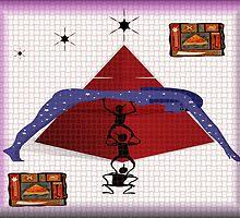 Egyptian Goddess-Don't Let Her Fall by Michelle Scott