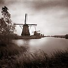 VanDyke Kinderdijk 2 by Chas Bedford