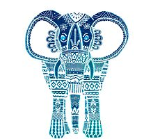 Elephant - Turquoise  by charholt