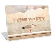 Time To Fly Laptop Skin