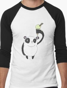 ice cool panda Men's Baseball ¾ T-Shirt