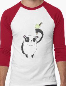 ice cool panda Men's Baseball ¾ T-Shirt