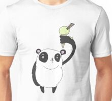 ice cool panda Unisex T-Shirt