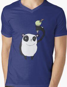 ice cool panda Mens V-Neck T-Shirt