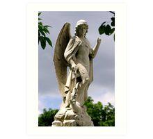 St. Joseph Catholic Cemetery - 2 Art Print