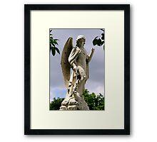 St. Joseph Catholic Cemetery - 2 Framed Print