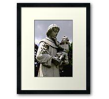 St. Joseph Catholic Cemetery - 3 Framed Print