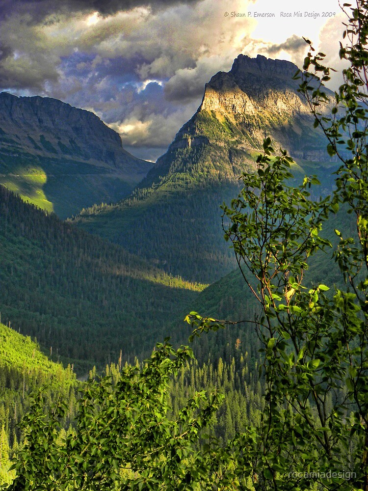 High Country - Glacier National Park by rocamiadesign