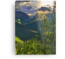 High Country - Glacier National Park Metal Print