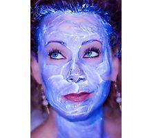 Beauty Mask Photographic Print