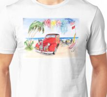1939 Pontiac Woody:  On San Onofre State Beach (Trestles)  Unisex T-Shirt