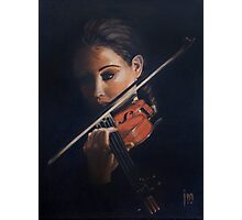 """Violin"" Oil on Canvas Photographic Print"