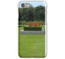 Roses, Roses, Roses - Preston Temple Grounds iPhone Case/Skin