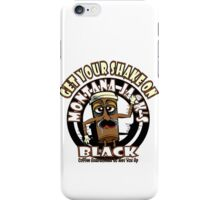 Montana Jack's Black Get Your Shake On iPhone Case/Skin