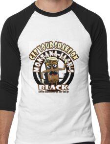 Montana Jack's Black Get Your Shake On Men's Baseball ¾ T-Shirt
