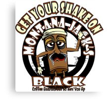 Montana Jack's Black Get Your Shake On Canvas Print