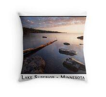 Lake Superior - Minnesota Throw Pillow