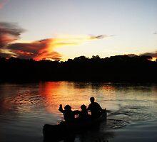 Canoe by descendingdream