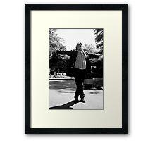 Strike a pose Framed Print