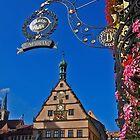 Rothenburg  - Ratstrinkstube  by David J Dionne