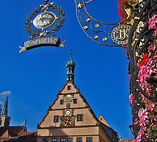 Rothenburg  - Ratstrinkstube  by David J Dionne