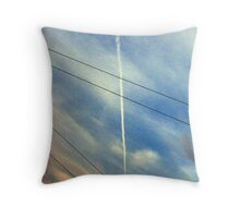 Parallel and Intersecting Lines Throw Pillow
