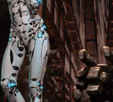 Cyberpunk Painting 059 Sticker