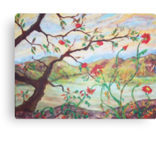 Tree of Friendship Canvas Print