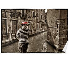 Man in Venice Poster