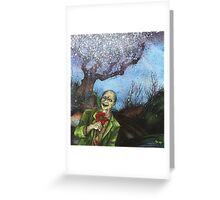 """""""Zombies Have Happy Places Too"""" Greeting Card"""