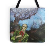 """Zombies Have Happy Places Too"" Tote Bag"