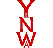 YNWA RED Photographic Print