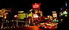 Caesars Palace and The Strip by Tim Topping