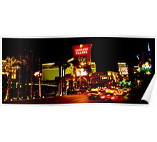 Caesars Palace and The Strip Poster