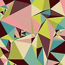 Pyramid Triangles by SuburbanBirdDesigns By Kanika Mathur