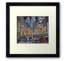 Cityscape 2010 Framed Print