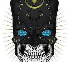 Sugar Skull Series - Batman by howsedesign