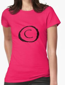 Copyright Womens Fitted T-Shirt