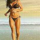 California Girl  5 detail by Carlos Casamayor
