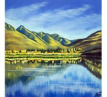 Lake Hayes, Queenstown NZ Photographic Print