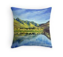 Lake Hayes, Queenstown NZ Throw Pillow