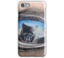 Buffalo Sunset - The challenge between man, horse and wolf... iPhone Case/Skin