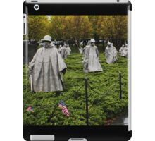 Korean War Veterans Memorial  iPad Case/Skin