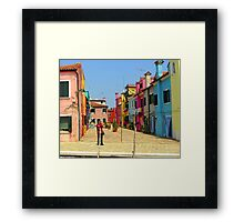 Vacation Photographer Framed Print
