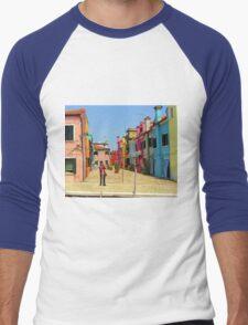 Vacation Photographer Men's Baseball ¾ T-Shirt