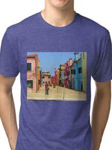 Vacation Photographer Tri-blend T-Shirt
