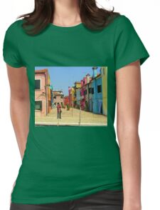 Vacation Photographer Womens Fitted T-Shirt
