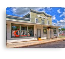 Gilbertsons Country Store  Canvas Print